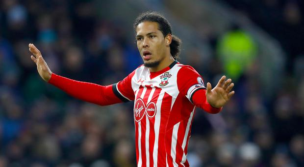 Virgil van Dijk 'received secret messages from Jurgen Klopp'