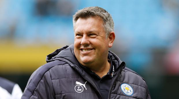 Craig Shakespeare, pictured, replaced Claudio Ranieri as manager on a short-term deal at Leicester in February