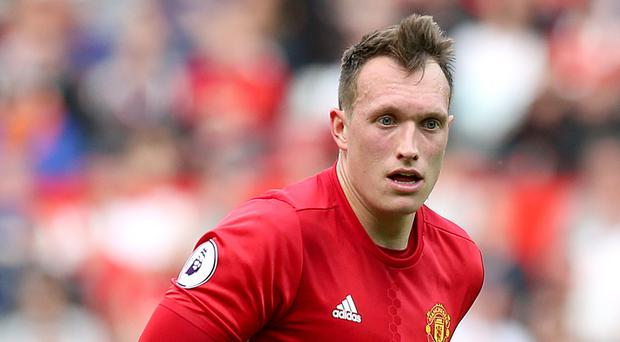 Phil Jones is relishing the competition for places at Manchester United