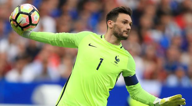 Goalkeeper Hugo Lloris has been bowled over by the talent in the France ranks