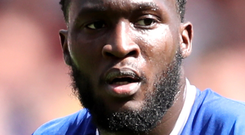 Romelu Lukaku will be high on Chelsea's target list as Diego Costa looks set to leave. Photo: PA