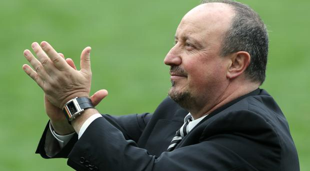 Newcastle manager Rafael Benitez is closing in on his first summer signing