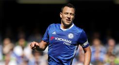 John Terry is reportedly considering a move to Aston Villa