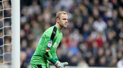 Newcastle keeper Matz Sels has joined Anderlecht on loan