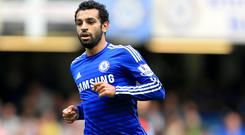 Mohamed Salah made 13 league appearances for Chelsea