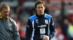 Nick Colgan, right, is considering legal action against Huddersfield