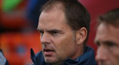Former Holland international Frank de Boer appears on the verge of becoming the new manager at Crystal Palace