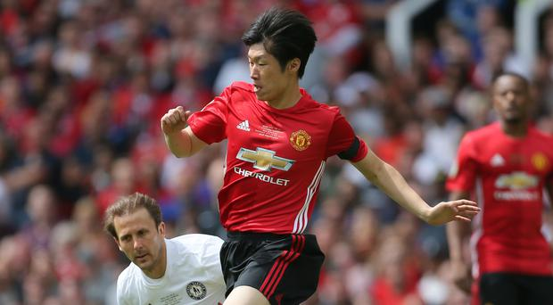 Park Ji-sung is a firm favourite with Manchester United fans