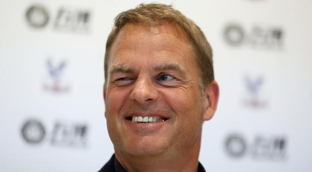 Frank de Boer is charged with getting Palace into the top half