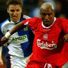 El Hadji-Diouf has reopened his feud with former Liverpool captain Steven Gerrard.