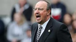 Newcastle manager Rafael Benitez is awaiting a summer transfer breakthrough