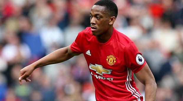 Manchester United's Anthony Martial faces an uncertain future at United if Perisic arrives