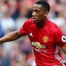 Manchester United's Anthony Martial appears to have denied he wants to leave the club