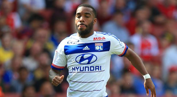 France striker Alexandre Lacazette, pictured, is close to signing for Arsenal from Lyon