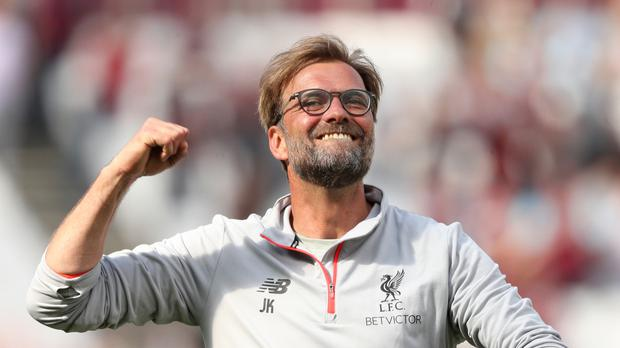 Jurgen Klopp led Liverpool to a top-four finish last season