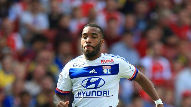 Alexandre Lacazette has joined Arsenal from Lyon - and has his sights set on titles