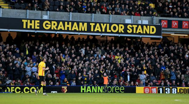 Vicarage Road will host a pre-season friendly against Spanish side Real Sociedad as tribute to former manager Graham Taylor