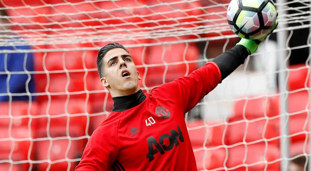 Manchester United's Joel Pereira has signed a new deal
