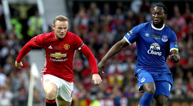Romelu Lukaku, right, is on the verge of swapping Everton for Manchester United