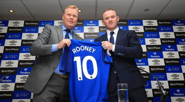 Wayne Rooney is back at Everton