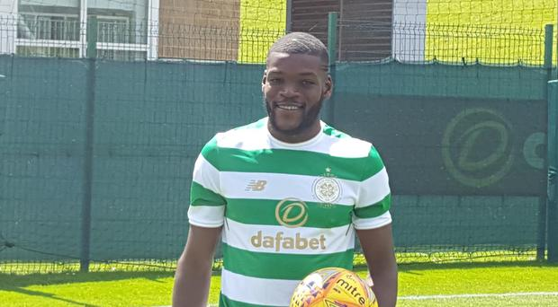 Olivier Ntcham has joined Celtic