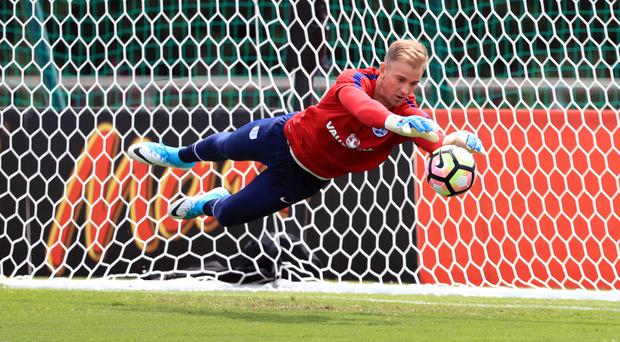 West Ham and Newcaste are both keen on England goalkeeper Joe Hart