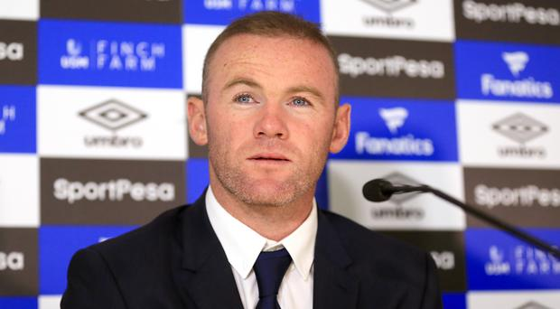 Wayne Rooney, pictured, played with David Unsworth during his first Everton spell
