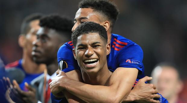 Marcus Rashford is growing in stature at Manchester United