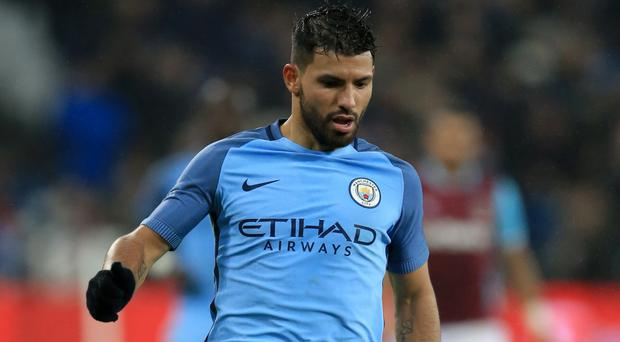 Is Sergio Aguero about to join one of Manchester City's Premier League rivals?