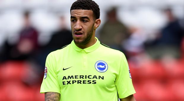 Connor Goldson is back in action