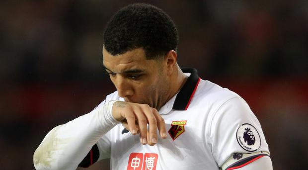 Troy Deeney has been with Watford since 2010