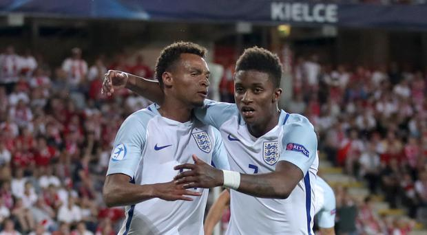 Jacob Murphy, left, is expected to complete his move to St James' Park
