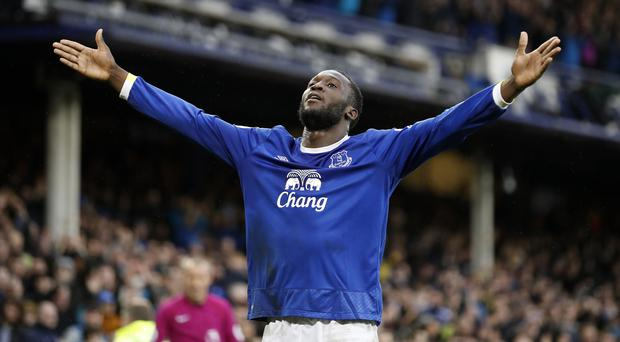 Romelu Lukaku scored his first goal for Manchester United since joining from Everton