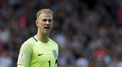 England goalkeeper Joe Hart has moved to West Ham on loan