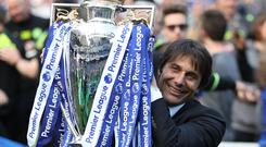Antonio Conte has signed improved terms with Chelsea