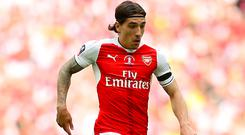Hector Bellerin made the biggest contribution of minutes played for Arsenal by a Gunners academy graduate last season