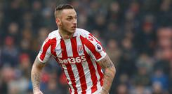 Marko Arnautovic is expected to join West Ham from Stoke on Friday afternoon