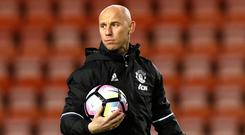 Nicky Butt oversees United's youth development as the head of academy
