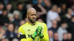 West Ham United goalkeeper Darren Randolph has joined Middlesbrough