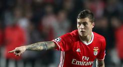 Victor Lindelof joined Manchester United from Benfica