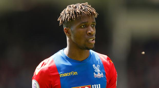 Wilfried Zaha accuses Manchester United and Liverpool fans of racism
