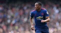 Anthony Martial impressed for Man Utd in their friendly win over Real Madrid