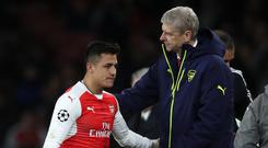 Arsene Wenger is keen to keep hold of Alexis Sanchez