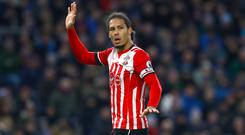 Virgil van Dijk has been left out of Southampton's squad for a training camp in France after telling the club he wants to leave.