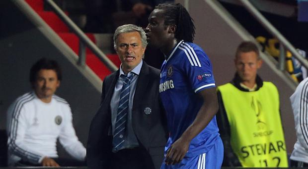 Jose Mourinho, left, sold Romelu Lukaku, right, when the pair were at Chelsea