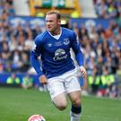 Wayne Rooney is excited by his European debut for Everton