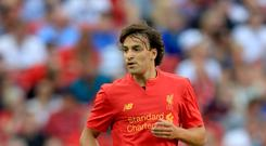 Liverpool winger Lazar Markovic has held talks with Fiorentina.