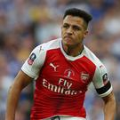 Alexis Sanchez will begin training with Arsenal on Sunday