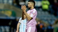 Michael Hector is back in the Sky Bet Championship with Hull