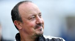 Rafael Benitez has completed his fifth summer signing